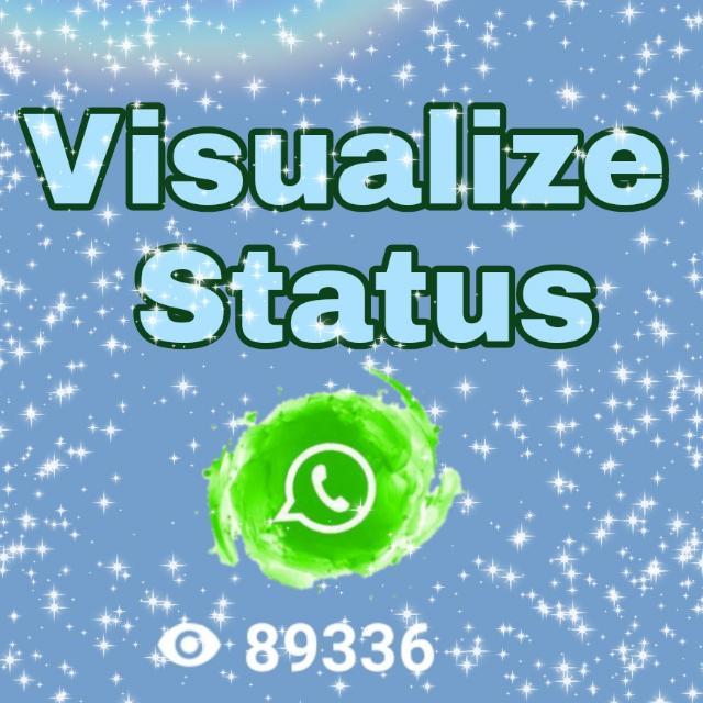 Imagem do grupo Visualize Status 👁️